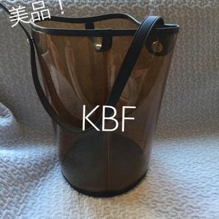 ケービーエフ(KBF)の美品♪KBF クリアバック(ハンドバッグ)