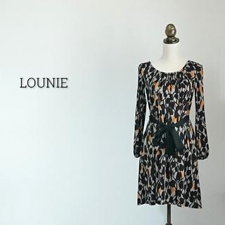 ルーニィ(LOUNIE)のLOUNIE ルーニィ ワンピース (ひざ丈ワンピース)