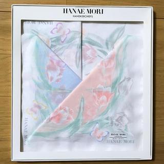 ハナエモリ(HANAE MORI)の母の日のプレゼントに★HANAE MORI  ハンカチセット【新品未使用】(ハンカチ)