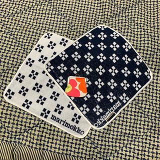 マリメッコ(marimekko)のマリメッコ 小銭入れとハンドタオルセット(コインケース)