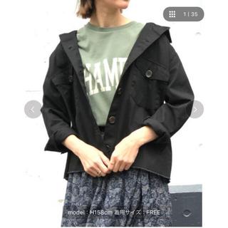 ナノユニバース(nano・universe)のナノユニバース ミリタリージャケット ミリタリーシャツ(ミリタリージャケット)
