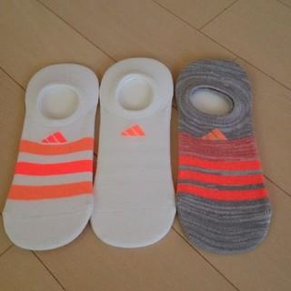 アディダス(adidas)のadidas アディダス レディースソックス 3組(ソックス)