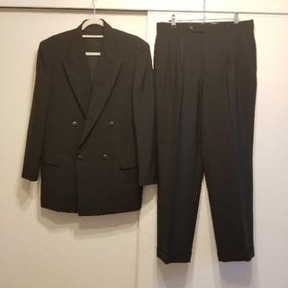 クリスチャンディオール(Christian Dior)のchristian dior セットアップ ダブルスーツ ブラック(セットアップ)