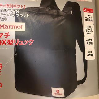 マーモット(MARMOT)のスマート 付録 smart(バッグパック/リュック)