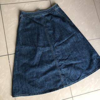 ドゥファミリー(DO!FAMILY)のドゥファミリー デニムスカート(ひざ丈スカート)