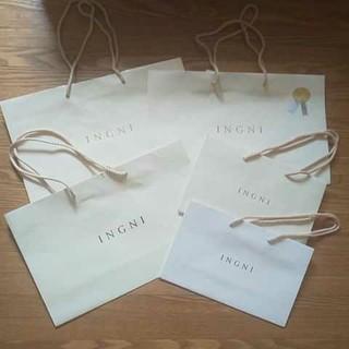 イング(INGNI)のINGNI ショップ袋 6枚セット(ショップ袋)