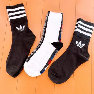 アディダス(adidas)のVOLCAN&APHRODITE 靴下セット(ソックス)