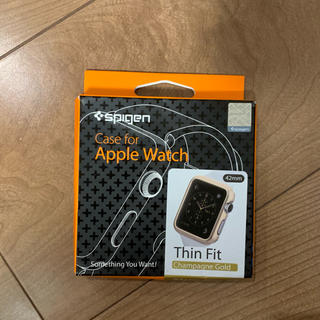 Spigen - アップルウォッチ case for Apple Watch ケース gold