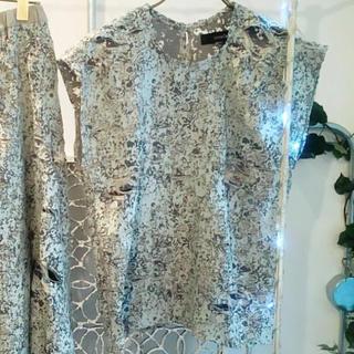 アッシュペーフランス(H.P.FRANCE)のshiroma ダメージトップス(Tシャツ(半袖/袖なし))