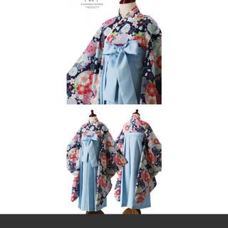 キャサリンコテージ(Catherine Cottage)のもしゃはむ様専用。簡単着付けの刺繍入り袴和装セット(和服/着物)