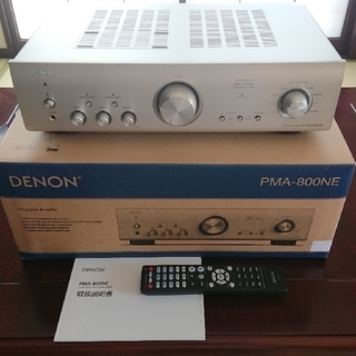 デノン(DENON)のプリメインアンプ DENON PMA-800NE    ※延長保証5年付(アンプ)