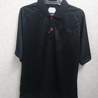 久保田スラッガー - 久保田スラッガー 限定 ポロシャツ ブラック/ブラック Lサイズ LT18-TW