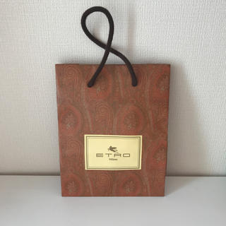 エトロ(ETRO)のETRO 紙袋(ショップ袋)