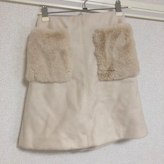 ジーユー(GU)のGU☆ふわもこスカート(スカート)