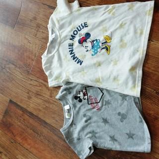 シマムラ(しまむら)のバースデイ ミニー 110 Tシャツ(Tシャツ/カットソー)