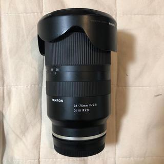 タムロン(TAMRON)のTAMRON SONY αE マウント28-75mm F 2.8  A036 (レンズ(ズーム))
