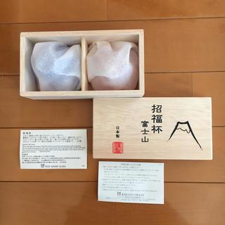 トウヨウササキガラス(東洋佐々木ガラス)の富士山 ペア おちょこ 東洋佐々木ガラス(グラス/カップ)