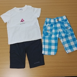 モンベル(mont bell)のmont-bell Tシャツ ズボン 90 男の子(パンツ/スパッツ)