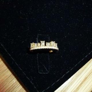アーカー(AHKAH)の限定品★AHKAH アーカー K18YG モザイクライムリング  ダイヤ 11号(リング(指輪))