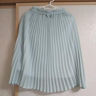 ジーユー(GU)の女の子 GUプリーツスカート 140(スカート)