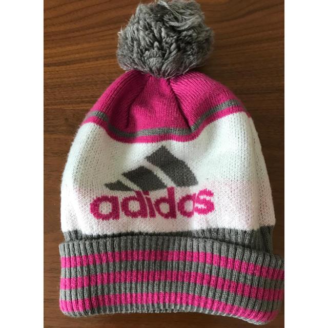 adidas(アディダス)のアディダス adidas ニット帽 レディースの帽子(ニット帽/ビーニー)の商品写真