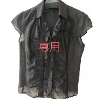 ニジュウサンク(23区)の23区 麻100% シャツ 34&コムサジャケット(シャツ/ブラウス(半袖/袖なし))