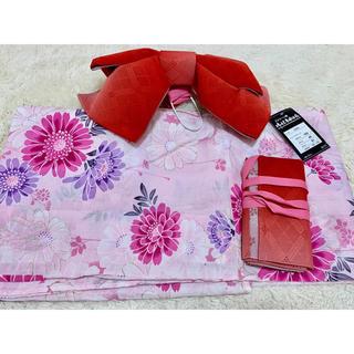 シマムラ(しまむら)の浴衣 作り帯セット♡(浴衣)