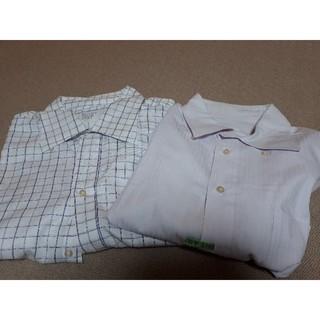 格安ビジネスワイシャツ2枚セット2L~3L(シャツ)
