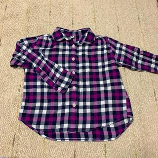 ユニクロ(UNIQLO)のユニクロ 110 シャツ ネルシャツ H&M(その他)