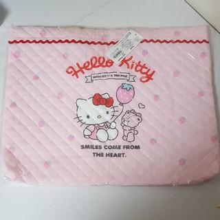 ハローキティ(ハローキティ)の新品 ハローキティ 手提げバッグ レッスンバッグ ピンク 女の子 バッグ(レッスンバッグ)
