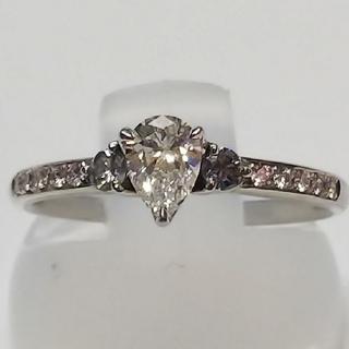 CREAM様専用です   リング  Pt950  ダイヤモンド ネックレス付き(リング(指輪))