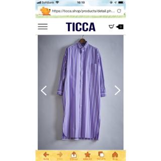 ドゥロワー(Drawer)のTICCA今期完売シャツワンピース(ロングワンピース/マキシワンピース)