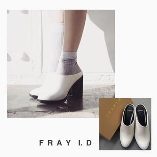 フレイアイディー(FRAY I.D)のFRAY I.D ヒールサボ(ハイヒール/パンプス)