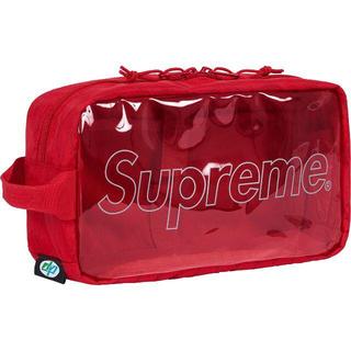 シュプリーム(Supreme)のSupreme 18FW Utility Bag 赤(セカンドバッグ/クラッチバッグ)