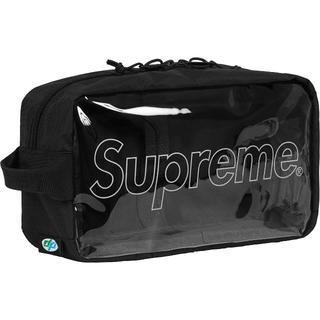 シュプリーム(Supreme)のSupreme 18FW Utility Bag 黒(セカンドバッグ/クラッチバッグ)
