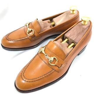 クロケットアンドジョーンズ(Crockett&Jones)の【ほぼ未使用】Jalan Sriwijaya ビットローファー 約23.5 本革(ローファー/革靴)