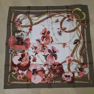 グッチ(Gucci)の【未使用】グッチ GUCCI スカーフ シルクツイル(バンダナ/スカーフ)
