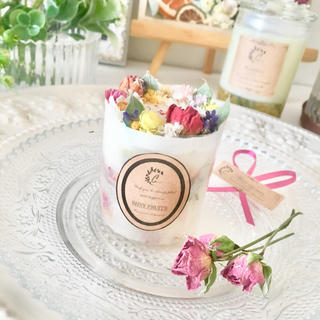 mini hallcake candle ※アロマワックス(アロマ/キャンドル)
