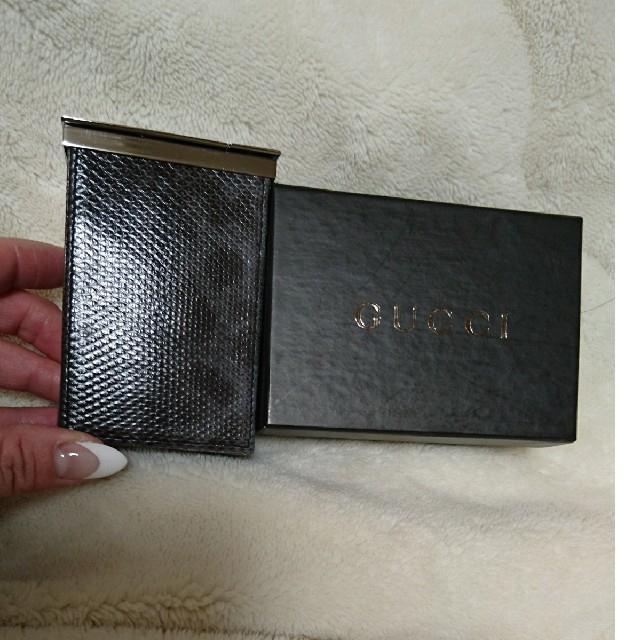 Gucci(グッチ)の最終寝引きシュガレットケース レディースのレディース その他(その他)の商品写真