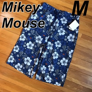 ディズニー(Disney)のあーたん様  Mickeyアロハ ☆ 涼ハーフパンツ ステテコ M(ハーフパンツ)