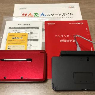 ニンテンドー3DS(ニンテンドー3DS)のたー様専用 ニンテンドー3DS フレアレッド(携帯用ゲーム機本体)