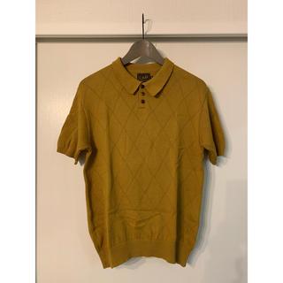 キャリー(CALEE)のモガ・スタイル様専用 Mサイズ CALEE ニットポロ(ポロシャツ)