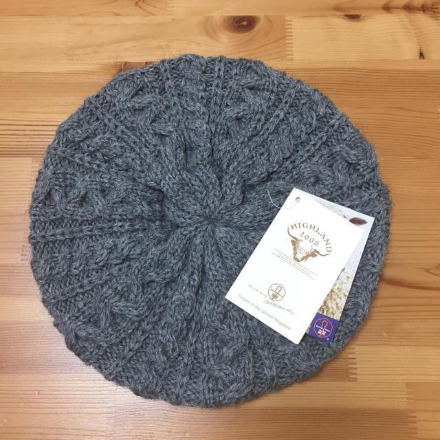Hiland Club(ハイランドクラブ)のベレー帽 レディースの帽子(ハンチング/ベレー帽)の商品写真