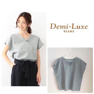 デミルクスビームス(Demi-Luxe BEAMS)のDemi-Luxe BEAMS / コットン Tシャツブラウス ビームス(シャツ/ブラウス(半袖/袖なし))
