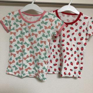 シマムラ(しまむら)のしまむら Tシャツ2枚セット 90㎝ 女の子(Tシャツ/カットソー)