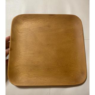 ムジルシリョウヒン(MUJI (無印良品))のアカシア スクエアプレート(テーブル用品)