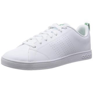 アディダス(adidas)の23㎝ ホワイト×グリーン VALCLEAN2【返品保証あり】(スニーカー)