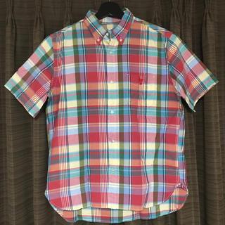 コーエン(coen)のcoen 半袖シャツ くま ポケットシャツ(シャツ)