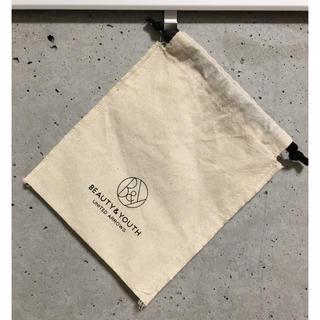 ビューティアンドユースユナイテッドアローズ(BEAUTY&YOUTH UNITED ARROWS)の《ユナイテッドアローズ》ショップバッグ  巾着(ショップ袋)