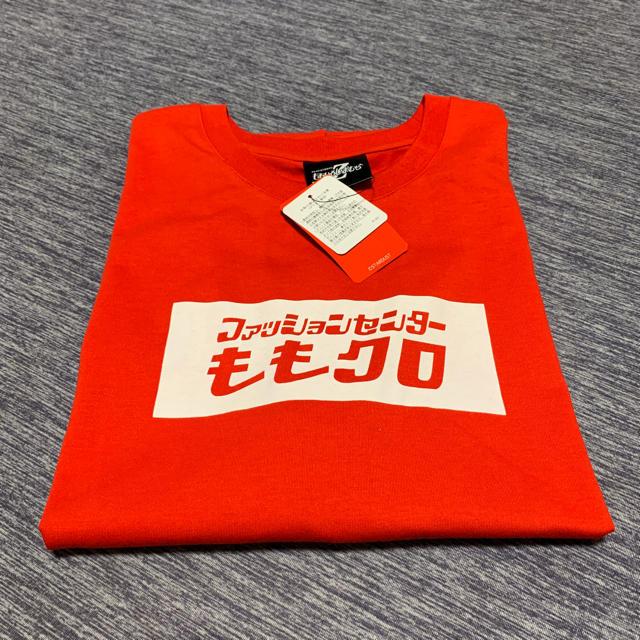 しまむら(シマムラ)のももクロTシャツ  M. 赤 エンタメ/ホビーのタレントグッズ(アイドルグッズ)の商品写真